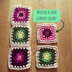 Transcendent Crochet a Solid Granny Square Ideas. Inconceivable Crochet a Solid Granny Square Ideas. Crochet Zig Zag, Joining Crochet Squares, Crochet Doily Rug, Spiral Crochet, Crochet Snowflake Pattern, Crochet Fabric, Granny Square Crochet Pattern, Crochet Bear, Single Crochet Stitch