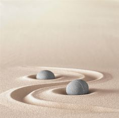 zen garden meditation stone background with copy space stones and lines in sand for relaxation balance and harmony spirituality or spa wellness Zen Meditation, Jardin Zen Interior, Deco Zen, Zen Garden Design, Zen Space, Ryoanji, Jolie Photo, Back To Nature, Nature Images