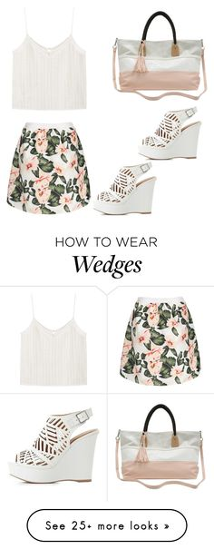 """Untitled #282"" by gllaciier on Polyvore featuring M&Co, Charlotte Russe and MANGO"