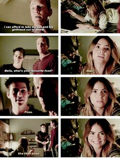 "Teen Wolf Season 04 Episode 11 ""A Promise to the Dead"" Sheriff Stilinski, Malia and Stiles"