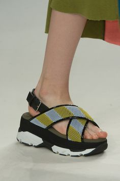 We've gone mad for #Marni #SS15 collection. Trainer...