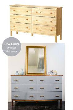 Dresser Makeover Ikea Tarva