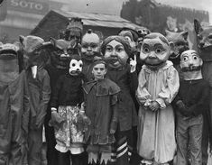 "Quietly Writing says, ""Halloween used to be WAY creepier""..... that's for sure - even the Miley Cyrus costumes may be less creepy than these ;)"