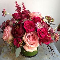 Floral Inspiration-Pink and Wine