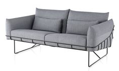 Wireframe Sofa, designed by Sam Hecht and Kim Colin for Herman Miller