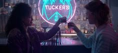 """Black Mirror's """"San Junipero"""" is one of the year's best television episodes, a science fiction story that asks bold questions through compelling characters."""