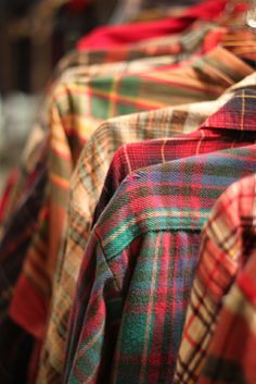 Assortments of Plaid.