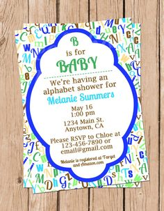 Baby Shower Invitation Letter Mesmerizing Rustic Baby Shower Invitation Greenery Baby Shower Invite Boy Baby .