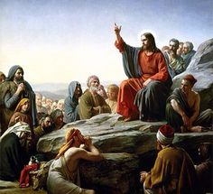Resultado de imagen para foto de jesucristo predicando