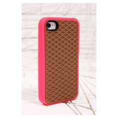 Vans Pink iPhone4 Case ($39) ❤ liked on Polyvore
