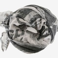 Extra, extra - you can now wear the news around your neck! Oversized yet lightweight and so much fun, we adore this Newsprint Scarf!