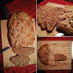 Esse pão ficou ótimo com um leve toque adocicado da granola com o mel, foi uma adaptação do pão integral que já passei a receita aqui e que deu muito certo e é ainda mais saudável e nutritivo. TEMP…