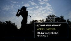Congratulations to Angel Daroca, the winner of the PLAY Mayakoba contest! Angel loves  golf for the challenge it always provides and he will soon experience the challenge of  Mayakoba Golf Course, El Camaleón!