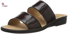Ganter Sonnica, Weite E, Mules Femme, Rouge-Rot (Vino 4200), 38 EU - Chaussures ganter (*Partner-Link)