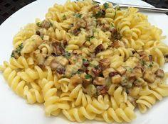 Pasta Carabonara - Vegan? Ja klar! Rezept nach Attila Hildmann...