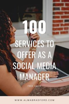 Ever wanted to be a Social Media Manager but don't know yet what services you should offer? I put together this guide to help you get clear on which services you want to focus on based on what you already know. Download this free guide to know more. Home Based Business, Business Tips, Online Business, Social Media Tips, Social Media Marketing, Affiliate Marketing, Marketing Program, Thing 1, Work From Home Tips
