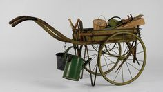 A Cart like this would be great for the junk fairies to have all their stuff for trash collection and cleaning