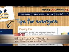 Help for Military Kids Faced with Moving: Military kids move a lot, and many are faced with a range of emotions from saying goodbye to friends, to fitting in at their new school. Military Youth on the Move is here to help military families facing a permanent change of station, with tips and advice on packing, rules for the road and staying in touch with those left behind. #MilitaryAvenue.com