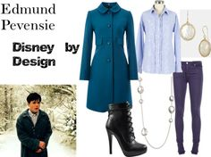 """Edmund Pevensie from """"The Chronicles of Narnia: The Lion The Witch and The Wardrobe"""" totally wear. Nerd Outfits, Fandom Outfits, Modest Outfits, Cool Outfits, Casual Outfits, Disney Dresses, Disney Outfits, Edmund Pevensie, Character Inspired Outfits"""