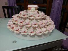 pacchettini battesimo su torta