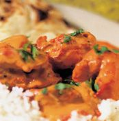 Butter Chicken Recipe - Quick and easy at countdown.co.nz 3/4 spoon tumeric, cumin and nutmet and 1/2 spoon chilli, yummo