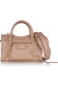 a31402335215 Balenciaga - Holiday Collection City mini textured-leather shoulder bag
