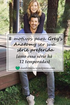 Grey's Anatomy é aquela série que levamos para vida. Clique no link para saber quais são os motivos para você e todo mundo amar a série.