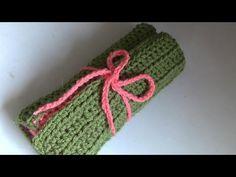 Haken - tutorial: Vonne's Haaketui Yarn Bowl, Crochet Videos, Crochet Accessories, Diy, Youtube, Knitting Needles, Tejidos, Custom In, Bricolage