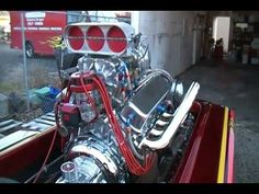 572 Keith Black Chevrolet Blown Alcohol Pickelfork Hydro With 1800 Plus Horsepower That Starts Like  A Honda Civic.