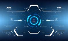 Conceptual 10 Hi-Tech HUD Set Gfx Design, Game Ui Design, Gui Interface, User Interface Design, Futuristic Technology, Technology Design, Effects Photoshop, Technology Wallpaper, Ui Design Inspiration