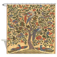 Celtic Tree of Life Shower Curtain on CafePress.com