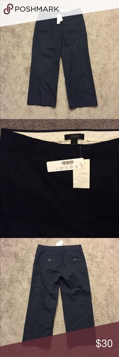 🆕 J.Crew Navy Blue Ankle Pants NWT Sz 6 ☀️ Brand new with tags! Thank you for looking!  #ygwyt002 J. Crew Pants Ankle & Cropped