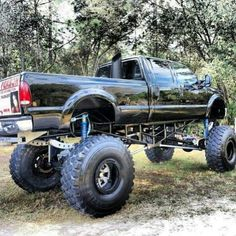 Very nice lifted truck