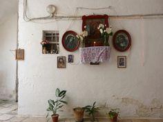#Altar in an alley #Monopoli #Puglia #Italy