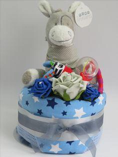 Baby boy nappy cake - http://www.ebay.co.uk/itm/-/191916609240?ssPageName=STRK:MESE:IT