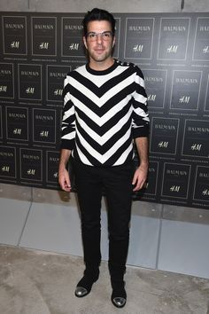 Zachary Quinto, Miles McMillan + More Attend Balmain x H&M Show