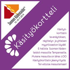 Käsityökortteli Tampereen Kädentaitomessuilla. Halle, Chart, Hall