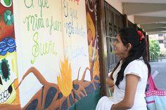 """A fin de promover la interacción de los jóvenes con las artes, 10 estudiantes del #P02Jiutepec  del #Cobaem_Morelos concluyeron con éxito el proyecto """"Pintando el imaginario colectivo"""" en coordinación con el Instituto Morelense de la Juventud (IMJUVE). #juventudcultaycreativa #SerBachillerEsUnOrgullo"""