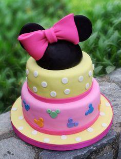 Torta infantil, Minnie.