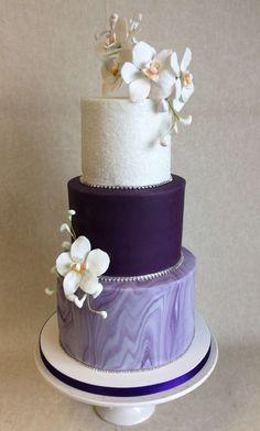 71 Best Purple Themed Wedding Cakes Images Themed Wedding Cakes