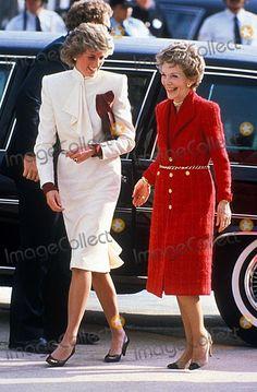 Princess Diana in America 1985