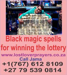 Powerful Lottery Spells Lottery Spells are very simple spells that can help you with lottery or gambling. Lottery spells are basically good luck spells to help you win some money with lottery tickets. Games of chance are tricky so don't expect tons of riches this way. Lottery spells as from the name have to be with earning money in a short period of time by winning the lottery, gambling etc. And now with the recession and financial troubles everywhere, there are many who would not