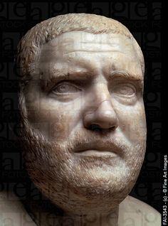 balbinus ancient rome | Portrait bust of Emperor Balbinus. Art of Ancient Rome, Classical ...