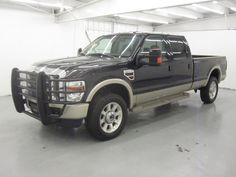 NEW YEAR! Spoil yourself or someone you love.with this Black 2010 Ford Super Duty SRW King Ranch with brown leather interior Low miles @ a great price! Richmond Texas, King Ranch, Ford Super Duty, Super Clean, Leather Interior, Ford Trucks, Cars, Nice, 4x4