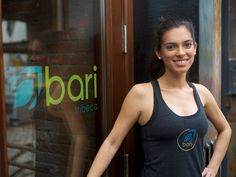"""Not all business owners have an """"a-ha"""" moment, but Alexandra Bonetti, the owner and founder of fitness company bari, remembers hers clearly. Working as a consultant at the time, Bonetti was traveling often as part of her role that involved merging and acquiring oil firms. She didn't have enough"""