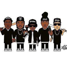 Gangsta Rap  #hiphop #oldschool #westcoast #nwa #compton #raiders #kings #icecube #eazye #drdre #mcren