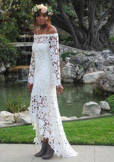 Free wedding dress crochet patterns ? Dress blog Edin
