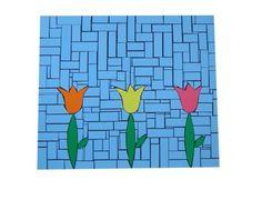 mantel individual mosaico