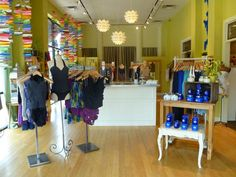 Soel Boutique - The Shops at Riverwoods. Like the colorful window display.