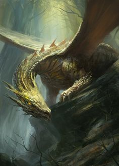 Forest Dragon by *gerezon on deviantART